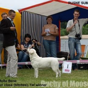 Silute/Rusne (LT), 27-28.06.2009 - NADIA Championem Litwy!