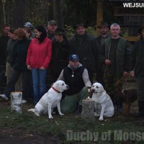 Wejsuny 2009: udane starty naszych labradorów